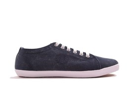 Fred Perry Kingston Overdyed Canvas Plimsolls Trainers Pumps Shoes B1191... - $54.42