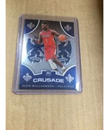2019-20 Chronicles Crusade Zion Williamson RC #529 - NO Pelicans SP - $24.74