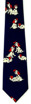 Cartoon Puppies Men's Necktie Dalmatian Dog Fratello Pet Animal Blue Nec... - $14.85