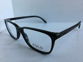 New Polo Ralph Lauren PH 2129 5517 53mm Black Men's Eyeglasses Frame   - $119.99