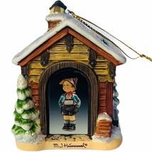 Hummel Christmas ornament figurine goebel Bavarian Bradford mountain hid... - $29.65