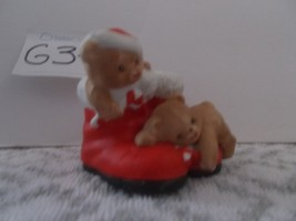 house of lloyd teddy candy cane holder, Christmas around the World - $8.99