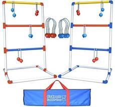 Outdoor Game Toss Ladder ball Fun Playing Kid M... - $78.98