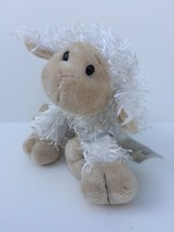 "GANZ Webkinz Lamb Sheep Plush 7"" Stuffed Animal Sealed Code Lovey #201 - $7.87"
