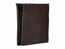 Steve Madden Men's Premium Leather Credit Card Id Wallet Brown N80027/01 image 2
