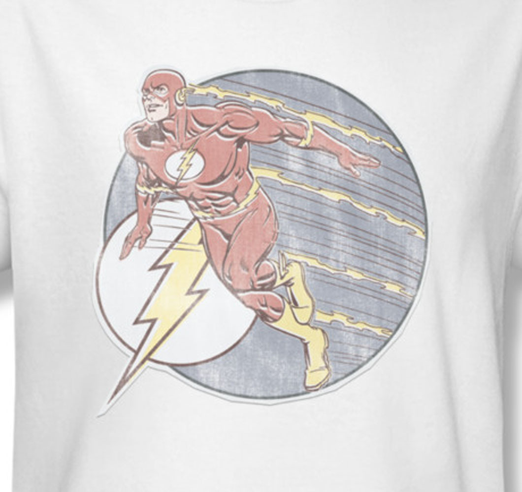 comics the flash superhuman agility batman superman for sale online graphic white tee dco602 at