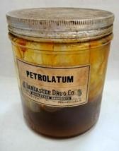 antique LANCASTER DRUG PETROLATUM petroleum MEDICINE PHARMACY pa quack b... - $67.95
