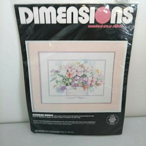 Vintage Dimensions Counted Cross Stitch SUMMER MAGIC Kit #3655 NEW 1988 - $27.04
