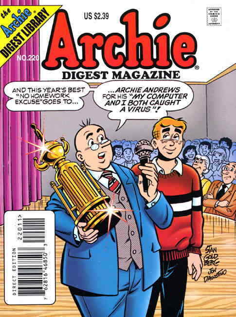 Archie Digest Magazine #220 VF/NM; Archie | save on shipping - details inside - $2.50