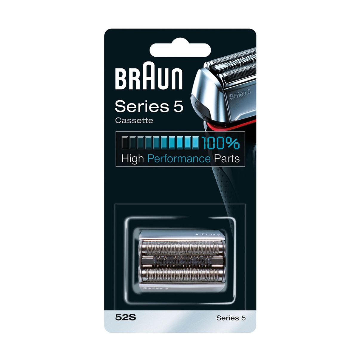 BRAUN Braun 52S replacement head silver / For Series 5 (new generation) [Free Sh