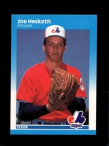 1987 FLEER #320 JOE HESKETH NMMT EXPOS  - $1.00