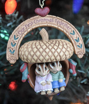 Hallmark - Our First Christmas Together - Two Chipmunks in Acorn - 1997 ... - $8.36