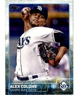 2015 Topps Series 2 Alex Colome #396 Tampa Bay Rays - $0.94