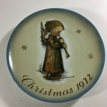 VTG Hummel Collector Series 1972 Christmas Plate Angel Schmid Brothers  - $17.57