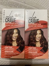 Clairol Color Crave Semi-permanent Hair Color, Candy Apple 2 Pack - $9.99