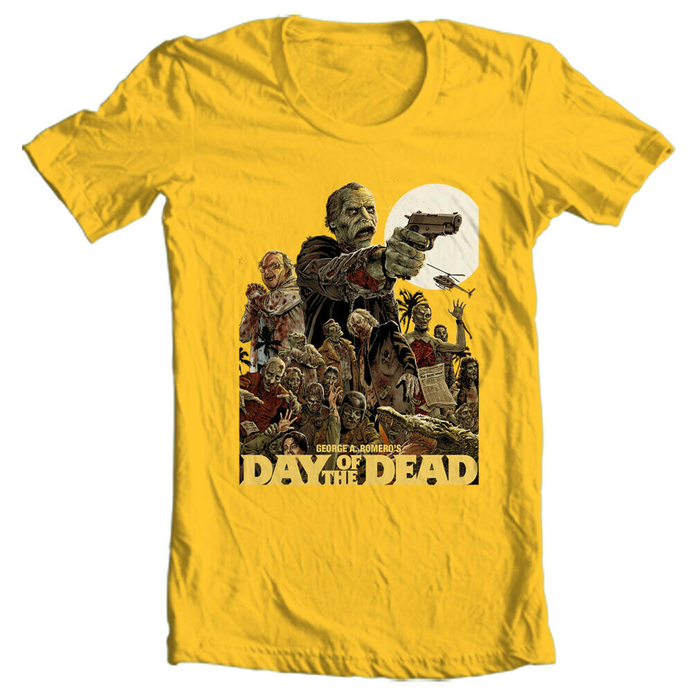 Day of the Dead T Shirt George Romero 70s retro vintage horror movie graphic tee