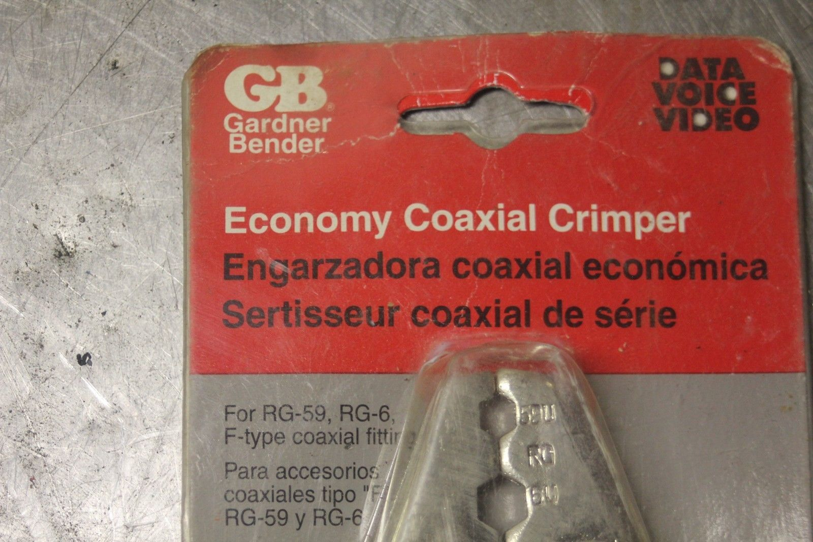GB Economy Coaxial Crimper GS-90