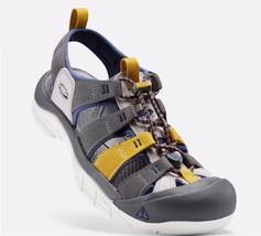 Keen Newport EVO H2 Men's Sandals Size US 9 M (D) EU 42 Gargoyle / Crown Blue