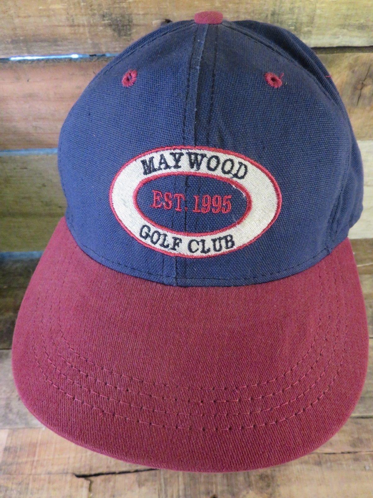 MAYWOOD Golf Club EST 1995 Adjustable Strapback Adult Hat Cap - $12.46