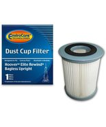 EnviroCare Round Pleated Dirt Cup Filter for Hoover U5507 Elite Rewind - $14.99