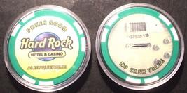 New Mexico Albuquerque Hard Rock CASINO CHIP Poker Room Purple 2010