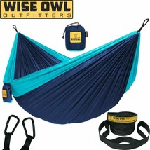 Wise Owl Outfitters Hammock Camping Double  Single With Tree Straps - Us... - $40.77