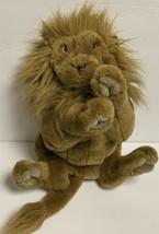 "FOLKMANIS Full Body Lion Hand Puppet 15"" Large Plush Cat Furry Kitty Folktails - $34.99"