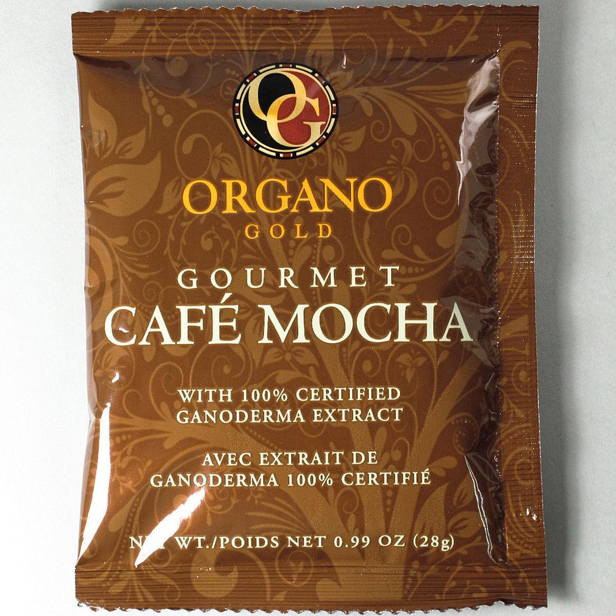 3 BOXES - ORGANO GOLD GOURMET CAFE MOCHA - GANODERMA EXP 06/2021 FREE SHIPPING