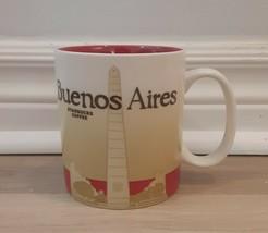 Starbucks Coffee BUENOS AIRES 16oz Mug Cup 2011 City Collector Series Ar... - $39.78