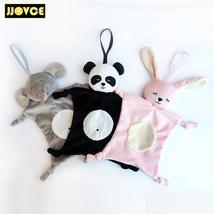 JJOVCE Plush Baby Security Blanket Baby Shower Gift Stuffed Animal Toys ... - $18.00+
