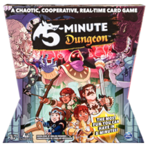 5 - Minute Dungeon Fun Card Game for Kids and Adults - $20.74