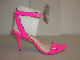 Jessica Simpson Size 7 M MORENA Laser Pink High Heels Sandals New Womens... - $53.51