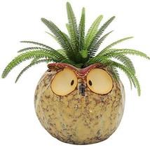 GeLive Owl Planter Ceramic Succulent Plant Pot Fun Animal Flower Contain... - $318,23 MXN