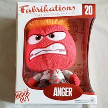 Funko Fabrikations - Disney Inside Out Soft Sculpture - ANGER - New Plush - $18.69