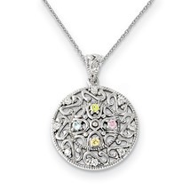 Sterling Silver CZ Bliss 18in Necklace - $79.99