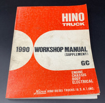 HINO Truck Workshop Repair Manual GC Supplement Engine Chassis Body Elec... - $28.45