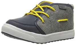 OshKosh B'Gosh Boys' Casper Bootie, Navy, 10 M US Toddler - $37.64