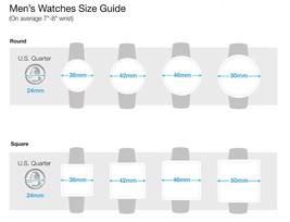 I. N.c. Hombres 44mm Color Plata Esfera Con Cristales Pulsera de Eslabones Reloj image 2