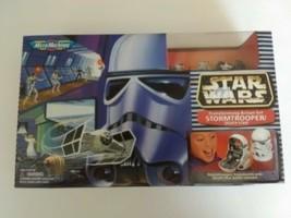 New Star Wars Micro Machine Transforming Action Set Stormtrooper Death Star - $27.99