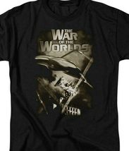 The War of the Worlds t-shirt retro 50s Sci Fi thriller graphic tee PAR120 image 3