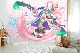 3D Pink Girl Bubble C595 Japan Anime Game Wallpaper Mural Cartoon Zoe - $34.64+