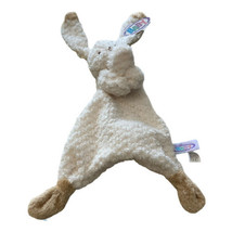 Mary Meyer Baby Oatmeal Bunny Lovey Security Blanket Plush Toy New - $13.96