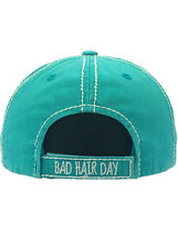 Distressed Vintage Style Bad Hair Day Hat Baseball Cap Runner Active Wear image 15