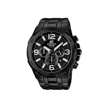 Casio Edifice Black Chrono Stainless Steel Watch - $186.30