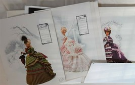 Annie's Calendar Bed Doll Society Crochet 1993 Victorian Lady Collection... - $24.25