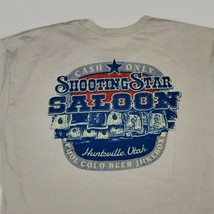 Dive Bar Shirt Club - Shooting Star Saloon LARGE T-Shirt Huntsville Utah... - $18.52