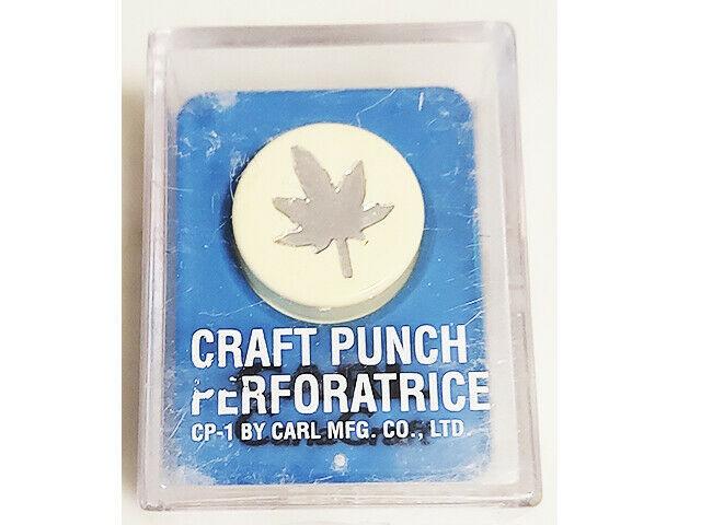 Carl CarlaCraft Small Craft Punch, Momiji Leaf #CP1-Momiji