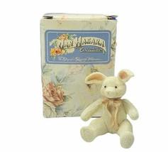 Jan Hagara figurine vtg limited edition 1985 Easter bunny rabbit Lesley ... - $24.70