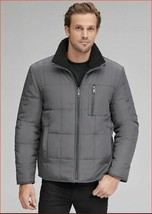 new Marc new YORK Andrew Marc men jacket coat Nixon reverse MM8AQ502 L grey - $78.70