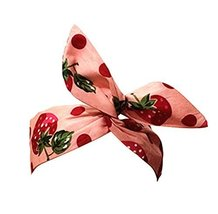 Vintage Style Gentlewomanly Headwrap/Hair Band For Girls/Female (Pink)